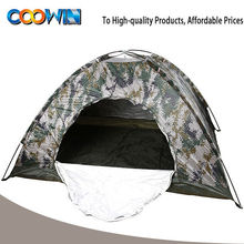 military camouflage camping tent