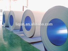 2015 ISO china manufacture wholesale roofing sheet material galvanized color coated steel coil