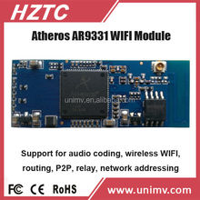 WIFI x10 plc h.264 cmos ip camera module car wifi router