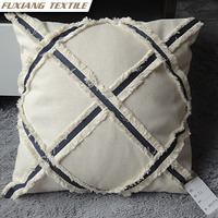 Handcrafted cotton decoration cushion for Home