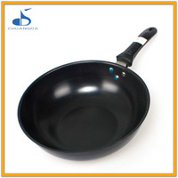CE LFGB approved food round cast iron poffertjes pan