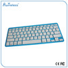 2015 Hot selling most popular aluminum mini 3.0chip bluetooth mechanical keyboard colorful bluetooth keyboard laptop computer