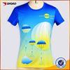 Custom sublimated t shirts wholesale printed shirts polo