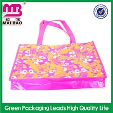 factory direct supply art laminated pet non woven bags