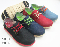 2015 alibaba latest design wash canvas shoes casual shoes