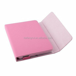 bluetooth keyboard leather case for 7 tablet