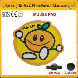 Trade assurance heat transfer printing portable die-cut mouse pads