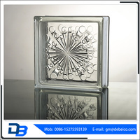 Cheap price colorful hollow glass block