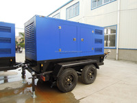 300kw Mobile Trailer Power Generator