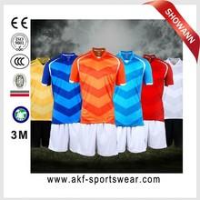 soccer uniform set/cheap soccer uniform kits/football club jersey thailand quality