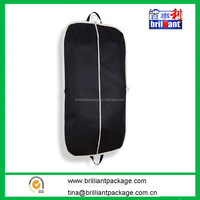 Customized Logo Printing Non Woven Shoulder Garment Bag