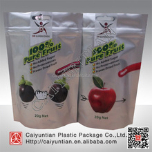 FDA custom printed aluminum foil stand up pouch