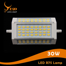 118mm 30w led r7s light replace double ended halogen bulb