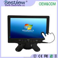 "1080P HD VGA AV MONITOR WIDE SCREEN 7 inch touch screen hdmi monitor/8"" 9.7"" 10"" 12"" 15"" 17"" 19"" 22"" touchscreen monitor"