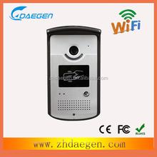 door access control wifi wireless video door phone system in smartphone video
