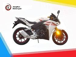 Two wheels and Single-cylinder air-cooled 250cc high configuration CBR racing motorcycle / racing bike on sale