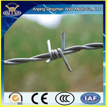Hot-dip galvanized weight of barbed wire per meter length with low price