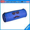 wholesale sunglasses and mastache printed pu barrel pencil case