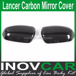 Lancer EVO Carbon Fiber Car Side Mirror Cover for Mitsubishi Lancer Car Mirror Cover