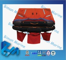 Marine Lifesaving Equipment GL Approval Marine Life Rafts For River Rafting