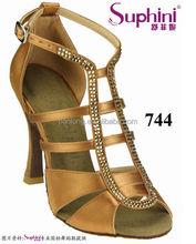 Fold up ladies shoes latin dance ,big size women shoes wholesale,leather golden shoes girls