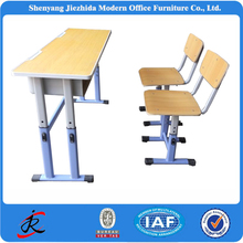 modern new fashion school sets school furniture single double school desk with chair