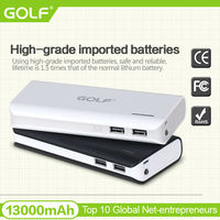 alibaba express in electronics in china portable mobile power bank 13000mah with 1.5A intput fast charging phone charger