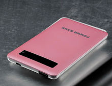 factory price portbale power bank charger &mobile power bank /pack for iphone5/ipad and samsung for sant gift