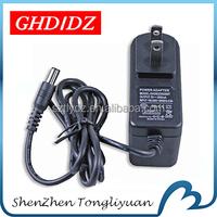 GHDIDZ-120500T EU US UK AUS wall plug 12v 600ma adaptor