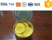 3000g A10 canned yellow peach in light syrup in tin halves , fresh fruits and vegetables