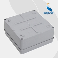 SAIP/SAIPWELL Direct Selling IP65 ABS Enclosures Waterproof Plastic Junction Box