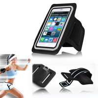 Neoprene,Lightweight soft neoprene Material and Armband For Apple iPhones Compatible Top Sports Running Mobile case