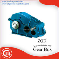 ZIBO GVORVI ZQ JZQ PM Helical Gear Reducer gear box for water treatment,lift,conveyor,elevator