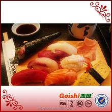 2015 best selling porcelain sushi set sushi case halal seaweed/sushi nori salmon shrimp rice