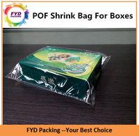 Soft Material Custom POF Plastic Shrink Bags For Gift Box Wrap