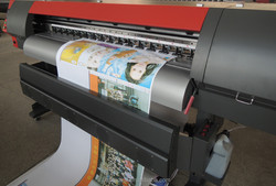 large size solvent digital printer 1.8 indoor outdoor factory made