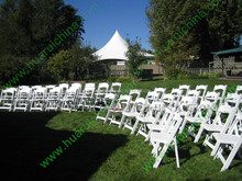 2015 white wood folding chair dining chair