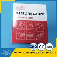 Vaseline gauze dressing paraffin gauze