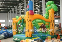 inflatable spider man bouncy castle, water inflatable castle