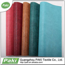 hot sale 1.1mm snake pattern PU synthetic leather for sofa
