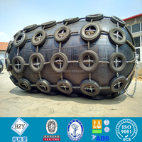 Inflatable marine/boat pneumatic rubber fender/rubber fender with chain tyre net