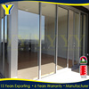 Hot sale big size double glazed with commercial frame aluminum sliding door
