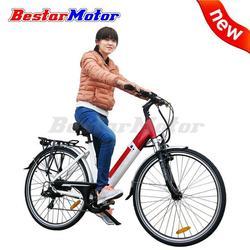 Manufacturer Price Green fashion girl electric bike