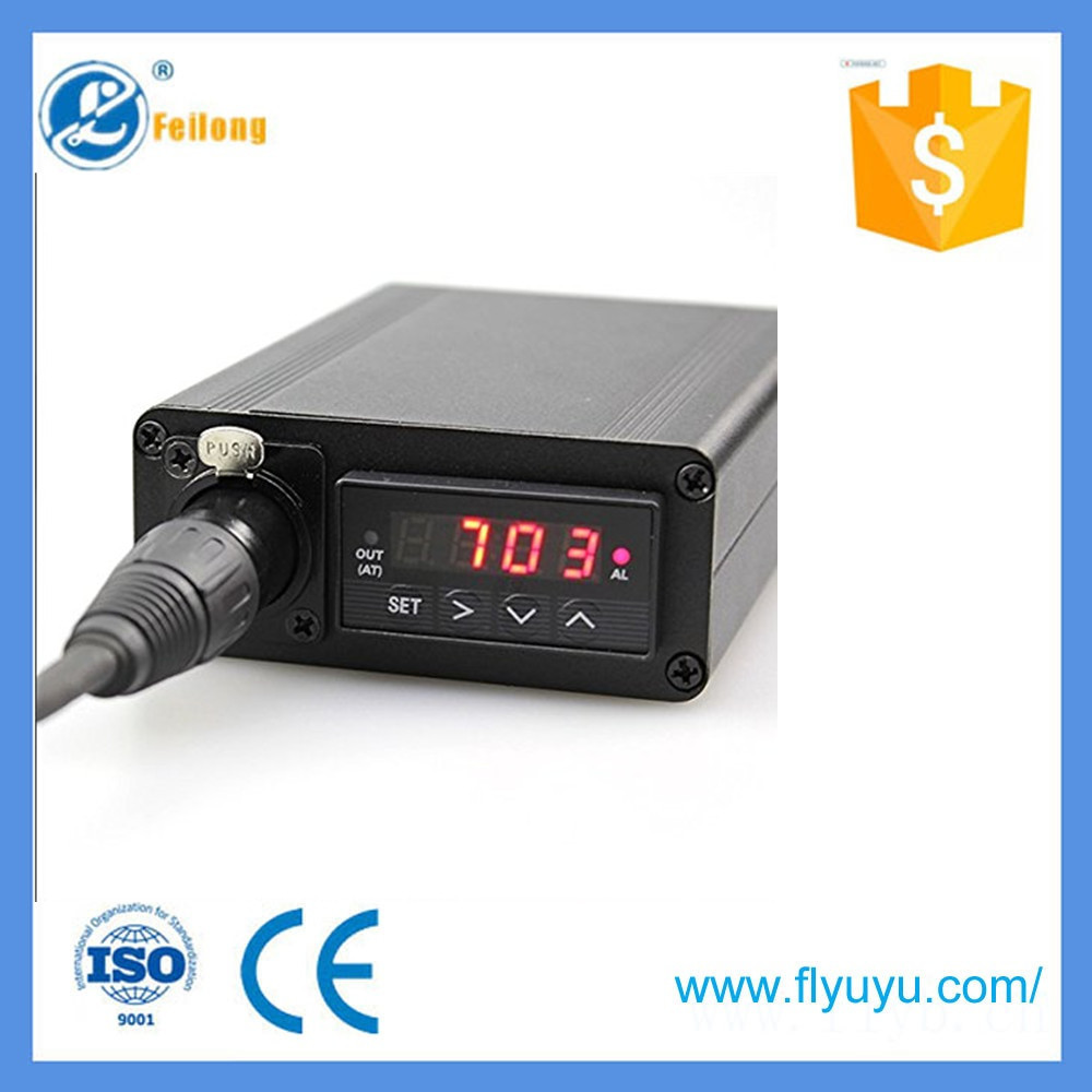 Intelligent Temperature Pid Controller Mounted Xlr Jack For Complete Package Thermocouple Probe Ssr 31312