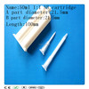 Plastic 50ml 1:1 AB component glue caulking cartridge,AB glue cartridge,AB dual cartridge