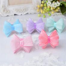 Wholesale cute cheap high quality fashion elastic flower stereoscopic hollow out girl headband hair accessories purple AEB1017-3
