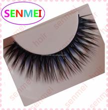 hot sale lashes two color mixed machine false eyelashes