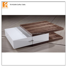 Foshan Newland furniture factory modern hoem furnture high gloss mdf animal coffee table (TB-N169A)