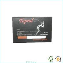 sigarette scatola di carta produttore di carta scatola stampata