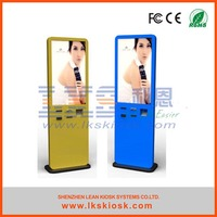 LKS stand alone kiosk touch screen indoor